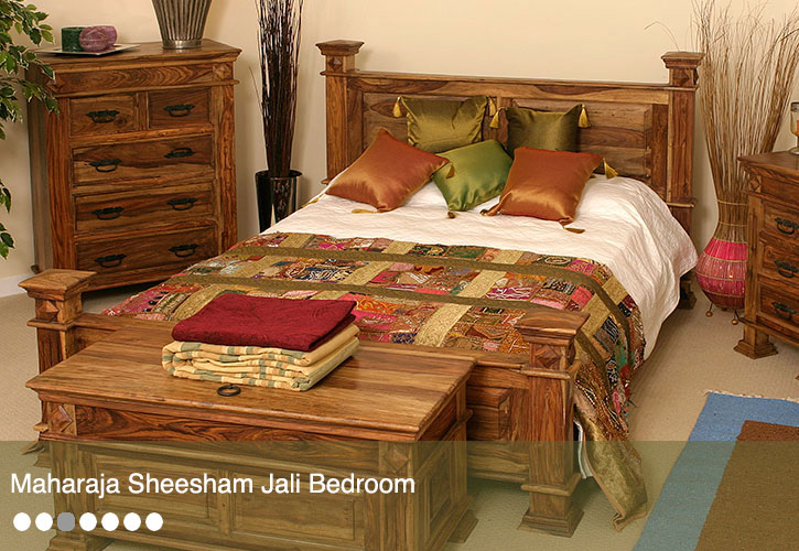 Jali Sheesham Bedroom Furniture