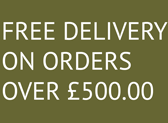 Free Delivery for order over £500.00
