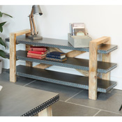 Chennai Low Bookcase / TV Stand