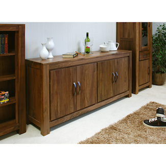 Dhaka Walnut Large Low Sideboard