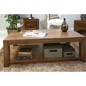 Dhaka Walnut Open Coffee Table