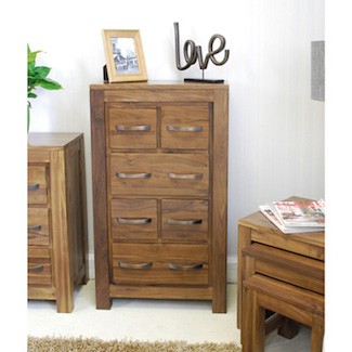Dhaka Walnut DVD / CD Chest