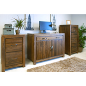 Dhaka Walnut Hidden Home Office