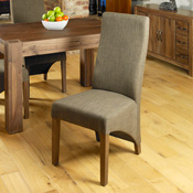 Dhaka / Nepal Hazelnut Dining Chair