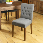 Dhaka / Nepal Slate Button Dining Chair