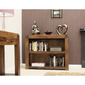Nepal Walnut Low Bookcase
