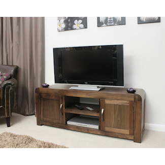 Nepal Walnut Widescreen TV Cabinet