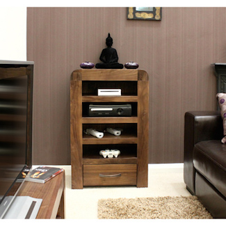 Nepal Walnut Entertainment Unit
