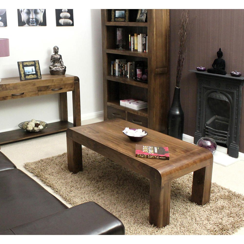 Tns Furniture Nepal Walnut Open Coffee Table