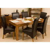 Cube 135CM Dining Table