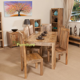 Mansa Mango 135cm Dining Table