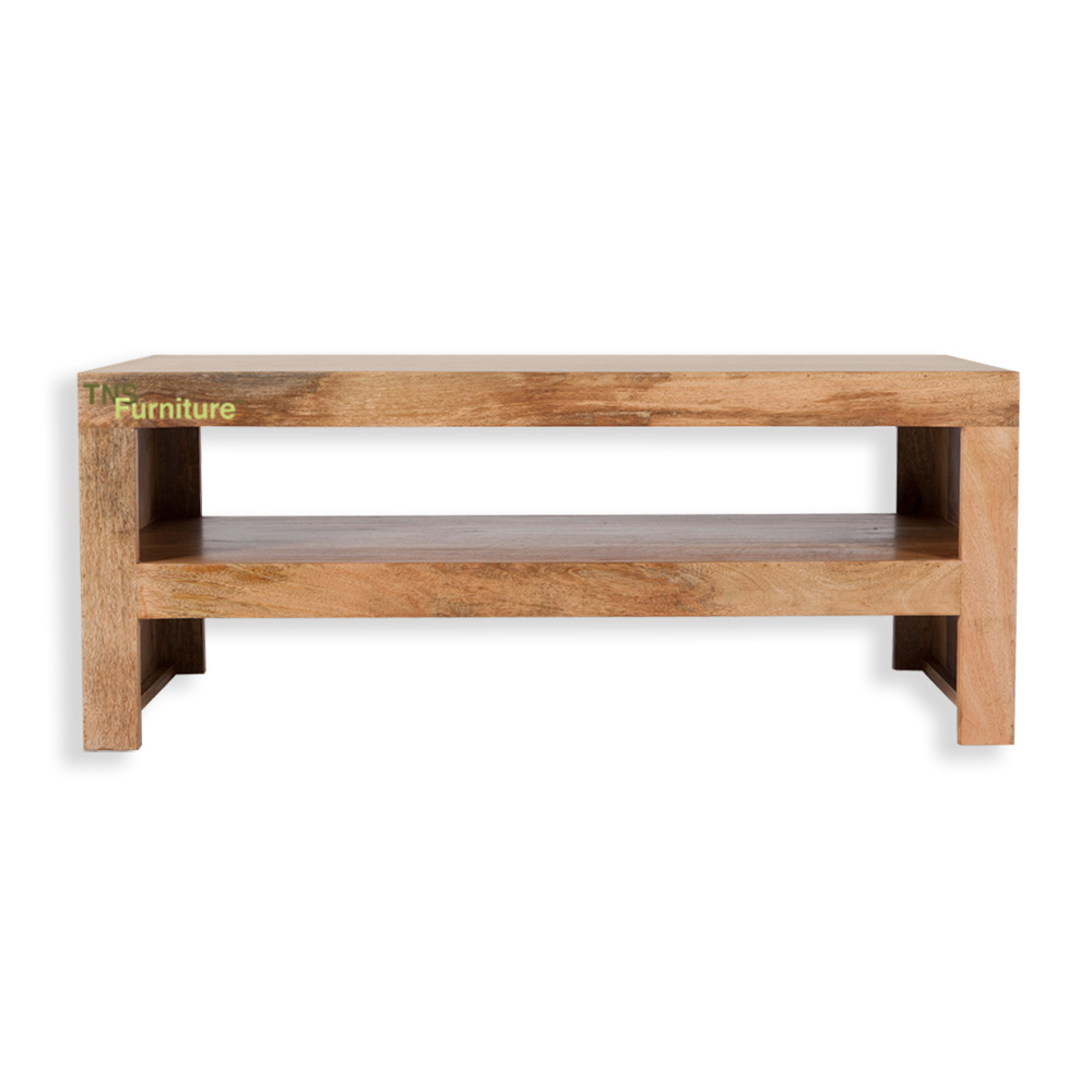 TNS Furniture Mansa Mango Coffee Table TV Stand