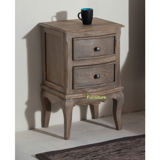 Haryana 2 Drawer Bedside
