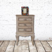 Haryana 3 Drawer Bedside