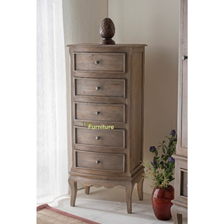 Haryana 5 Drawer Tall Chest