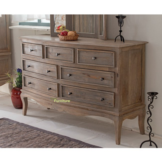 Haryana 7 Drawer Wide Chest