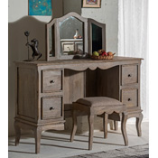 Haryana Dressing Table Mirror & Stool