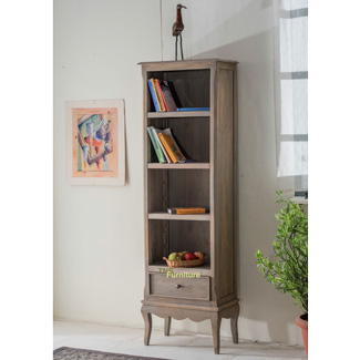 Haryana Slim Bookcase