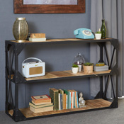 Himachal Wide Bookcase / Console Table
