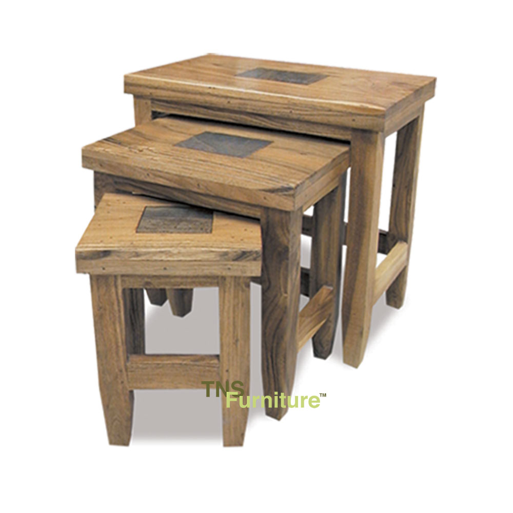 Tns furniture mumbai nest of three tables for T furniture okolona ms