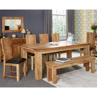 Joda Acacia Small Dining Table