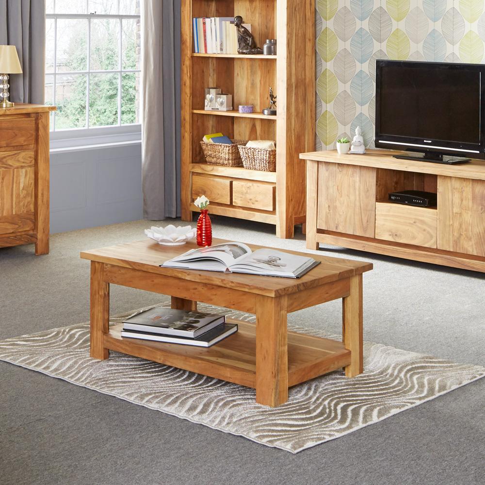 Tns Furniture Joda Acacia Coffee Table