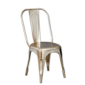 Pradesh Silver Dining Chair