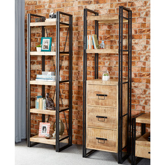 Pradesh Slim Bookcase