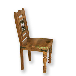 Jali Style Dining Chair
