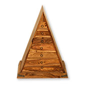 Jali Pyramid Chest