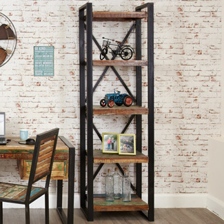 Orissa Reclaimed Narrow Bookcase