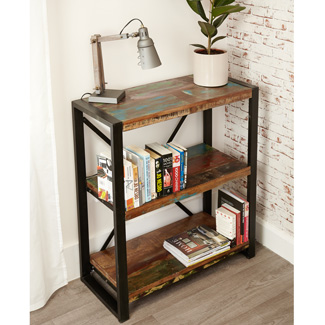 Orissa Reclaimed Low Bookcase