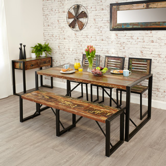 Orissa Reclaimed Large Dining Table