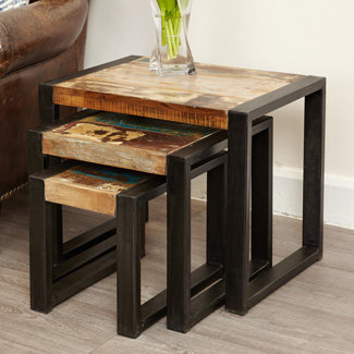 Orissa Reclaimed Nest of Tables