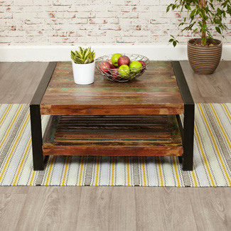 Orissa Reclaimed Square Coffee Table