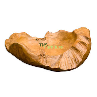 Teak Root Small Bowl
