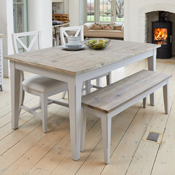 Royan Large Extending Dining Table