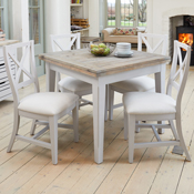 Royan Square Extending Dining Table